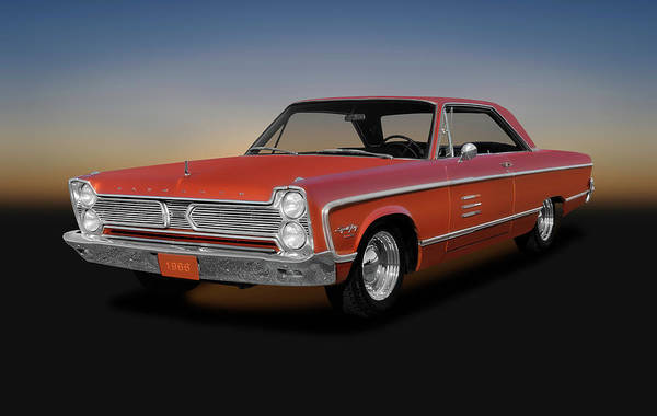 383 Photograph - 1966 Plymouth Sport Fury - 1966plymouthsportfuryhardtop141195 by Frank J Benz