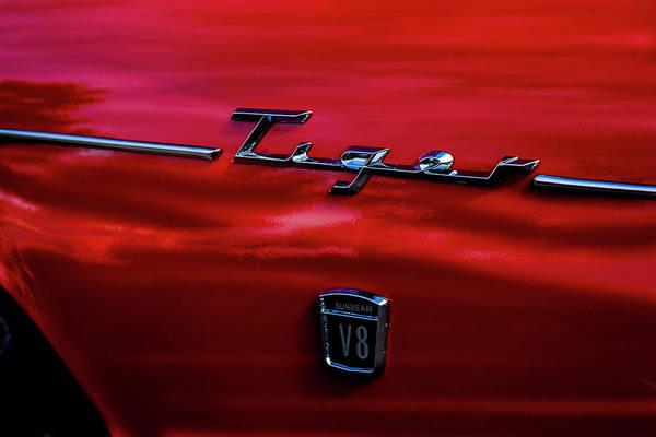 Photograph - 1966 Tiger V8 by Eric Christopher Jackson
