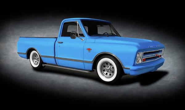 Wall Art - Photograph - 1967 Chevrolet C10 Pickup Truck  -  1967chevroletc10pickuptrktexture196535 by Frank J Benz