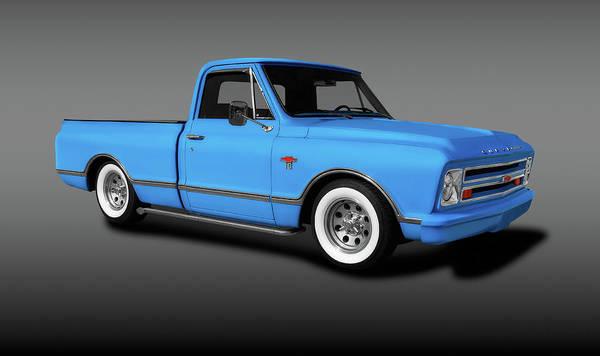 Wall Art - Photograph - 1967 Chevrolet C10 Pickup Truck  -  1967chevyc10pickuptruckfine196535 by Frank J Benz
