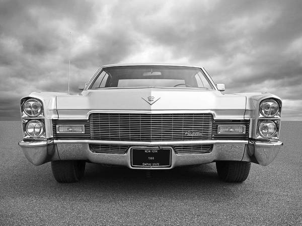Photograph - 1968 Cadillac Front by Gill Billington