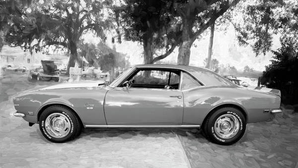Photograph - 1968 Chevrolet Camaro 350 Ss 001 by Rich Franco