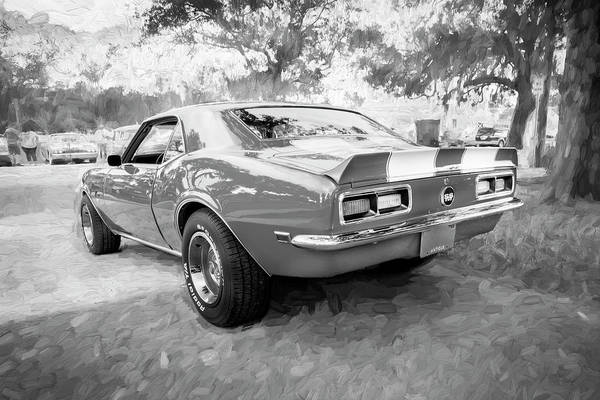Photograph - 1968 Chevrolet Camaro 350 Ss 003 by Rich Franco