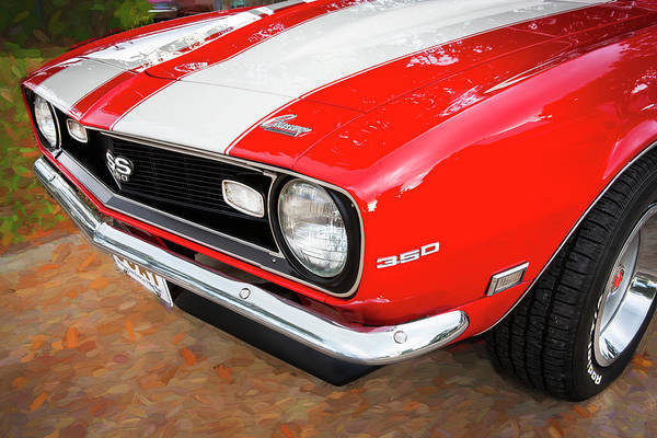 Photograph - 1968 Chevrolet Camaro 350 Ss 007 by Rich Franco