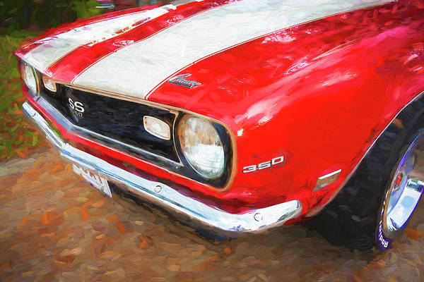 Photograph - 1968 Chevrolet Camaro 350 Ss 008 by Rich Franco