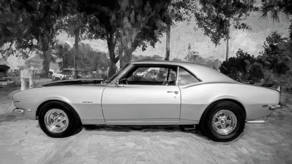 Photograph - 1968 Chevrolet Camaro 350 Ss A107 by Rich Franco