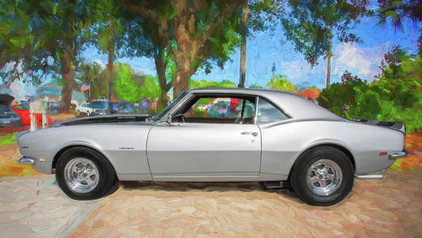Photograph - 1968 Chevrolet Camaro 350 Ss A108 by Rich Franco