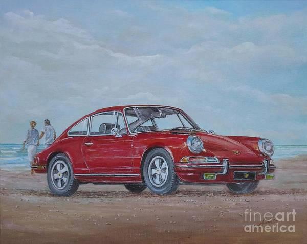 Painting - 1968 Porsche 911 2.0 S by Sinisa Saratlic