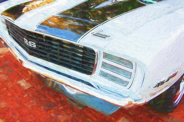 Photograph - 1969 Chevy Camaro Rs Ss 454 001 by Rich Franco