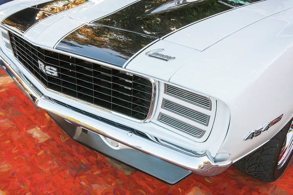 Photograph - 1969 Chevy Camaro Rs Ss 454 002 by Rich Franco