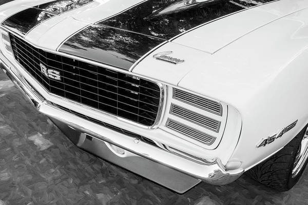 Photograph - 1969 Chevy Camaro Rs Ss 454 0031 by Rich Franco