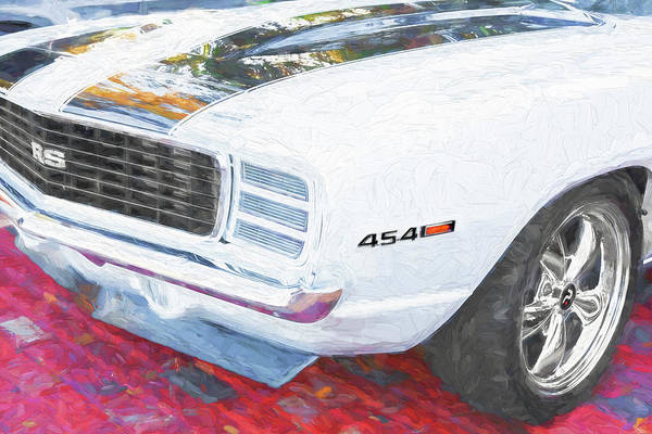 Photograph - 1969 Chevy Camaro Rs Ss 454 007 by Rich Franco
