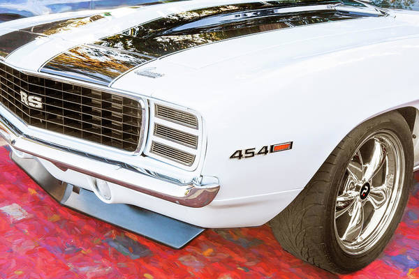 Wall Art - Photograph - 1969 Chevy Camaro Rs Ss 454 008 by Rich Franco
