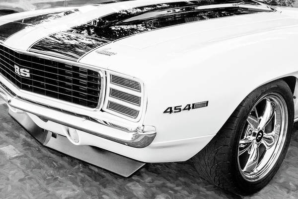Wall Art - Photograph - 1969 Chevy Camaro Rs Ss 454 009 by Rich Franco