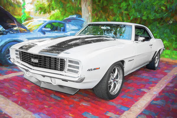 Wall Art - Photograph - 1969 Chevy Camaro Rs Ss 454 010 by Rich Franco