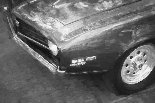 Wall Art - Photograph - 1969 Chevyrolet Camaro Ss 427 X103 by Rich Franco