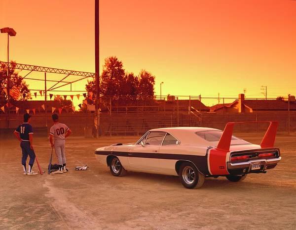 Insurance Photograph - 1969 Dodge Charger Daytona Hemi by Car Culture