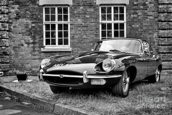 Photograph - 1969 Jaguar E Type by Tim Gainey