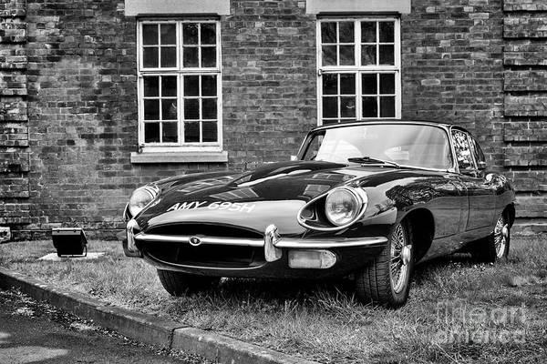 Wall Art - Photograph - 1969 Jaguar E Type by Tim Gainey