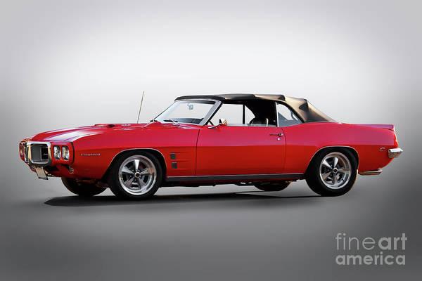 1969 Pontiac Firebird Photograph - 1969 Pontiac Firebird 400 Convertible by Dave Koontz