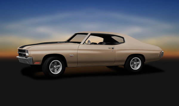 Wall Art - Photograph - 1970 Chevrolet Chevelle Ss 454  -  1970chevelless454sportcoupe196911 by Frank J Benz