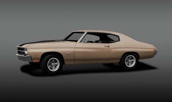 Wall Art - Photograph - 1970 Chevrolet Chevelle Ss 454  -  1970chevychevelless454gray196911 by Frank J Benz