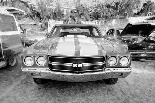 Wall Art - Photograph - 1970 Chevy Chevelle 396 Ss 105 by Rich Franco