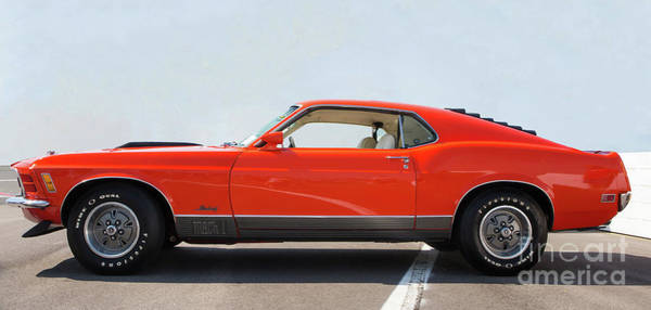 Photograph - 1970 Ford Mustang Mach 1 by Kevin McCarthy