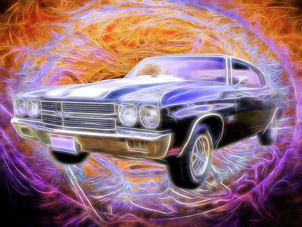 Digital Art - 1970 Super Sport by Rick Wicker