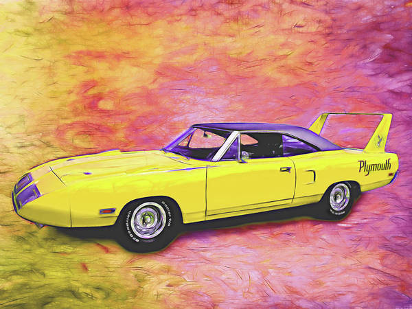 Digital Art - 1970 Superbird by Rick Wicker