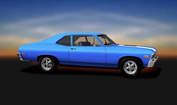 Wall Art - Photograph - 1971 Chevrolet Nova 350 Super Sport Coupe   -  1971chevroletnova350supersport170507 by Frank J Benz