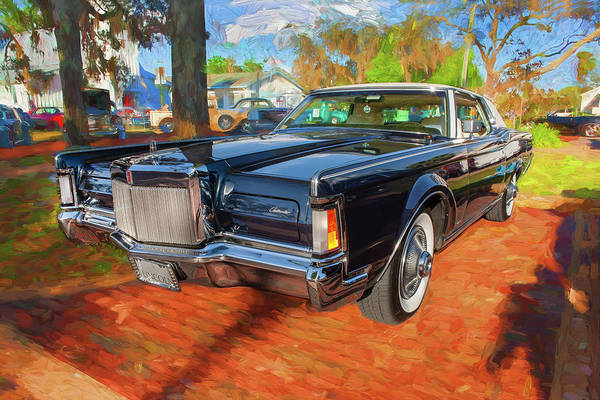 Wall Art - Photograph - 1971 Lincoln Continental Mark IIi 100 by Rich Franco