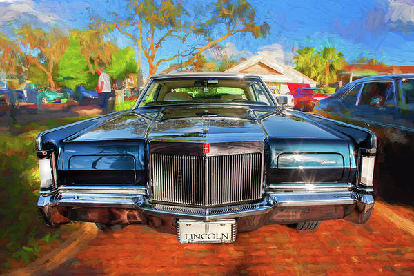 Wall Art - Photograph - 1971 Lincoln Continental Mark IIi 104  by Rich Franco