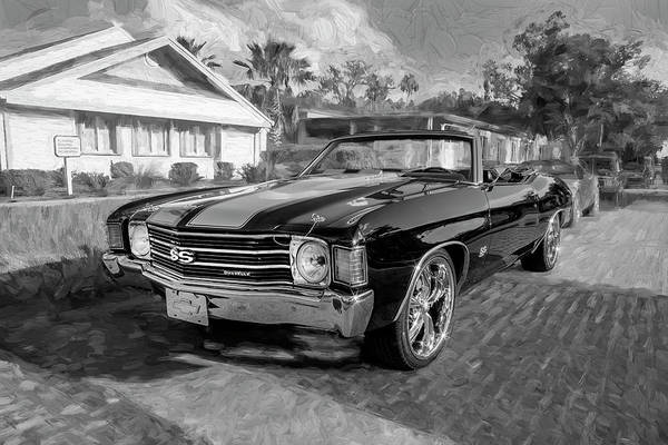 Wall Art - Photograph - 1972 Chevrolet Chevelle 454 Ss Convertible 101 by Rich Franco