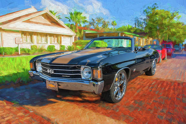 Photograph - 1972 Chevy Chevelle 454 Ss 100 by Rich Franco