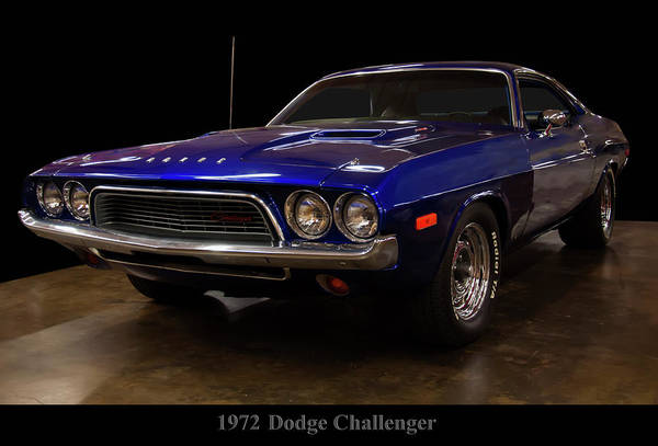 Photograph - 1972 Dodge Challenger by Chris Flees