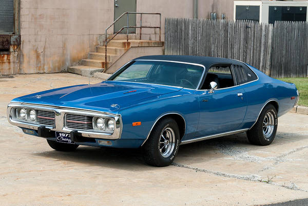 Photograph - 1973 Charger 440 by Anthony Sacco