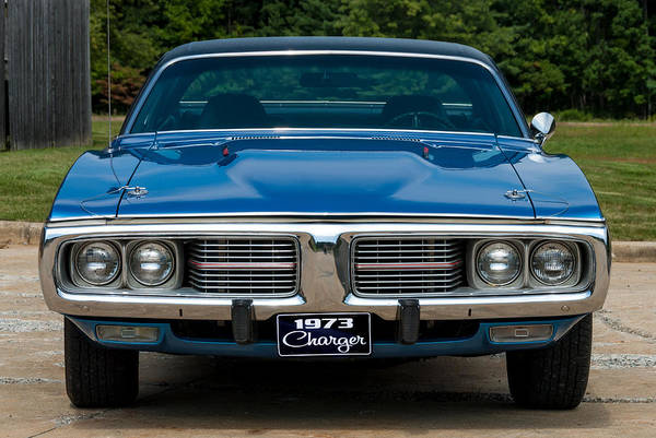 Photograph - 1973 Dodge Charger by Anthony Sacco
