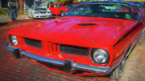 Wall Art - Photograph - 1973 Plymouth Hemi Barracuda 005 by Rich Franco