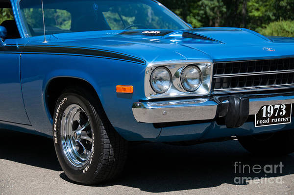 Photograph - 1973 Roadrunner 440 by Anthony Sacco
