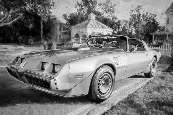 Photograph - 1979 Trans Am 6.6l Motor 403 C.i. T-tops Special Edition, Anniversary Edition 100 by Rich Franco