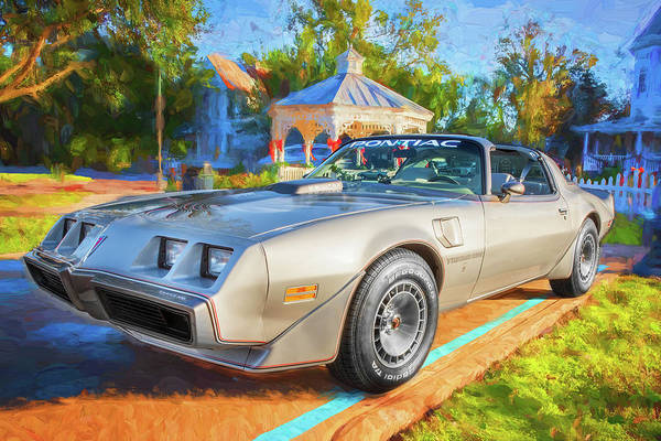 Photograph - 1979 Trans Am 6.6l Motor 403 C.i. T-tops Special Edition, Anniversary Edition 101 by Rich Franco