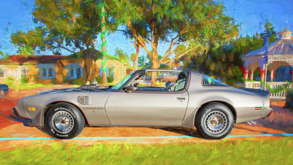 Photograph - 1979 Trans Am 6.6l Motor 403 C.i. T-tops Special Edition, Anniversary Edition 102 by Rich Franco