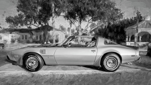 Photograph - 1979 Trans Am 6.6l Motor 403 C.i. T-tops Special Edition, Anniversary Edition 103 by Rich Franco