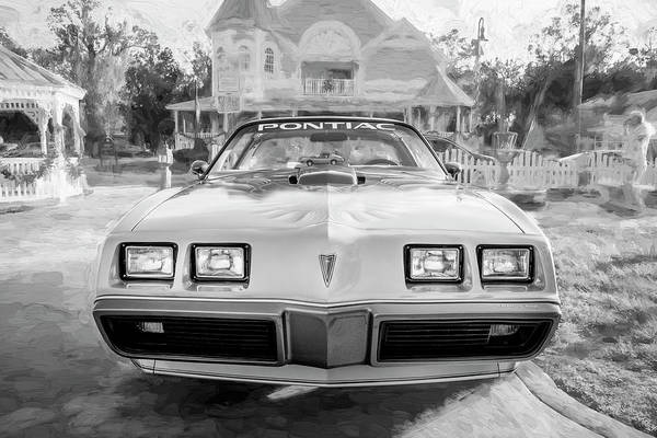 Photograph - 1979 Trans Am 6.6l Motor 403 C.i. T-tops Special Edition, Anniversary Edition 104 by Rich Franco