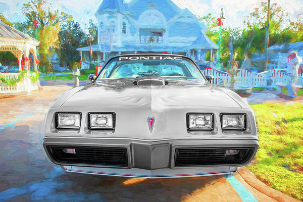 Photograph - 1979 Trans Am 6.6l Motor 403 C.i. T-tops Special Edition, Anniversary Edition 105 by Rich Franco