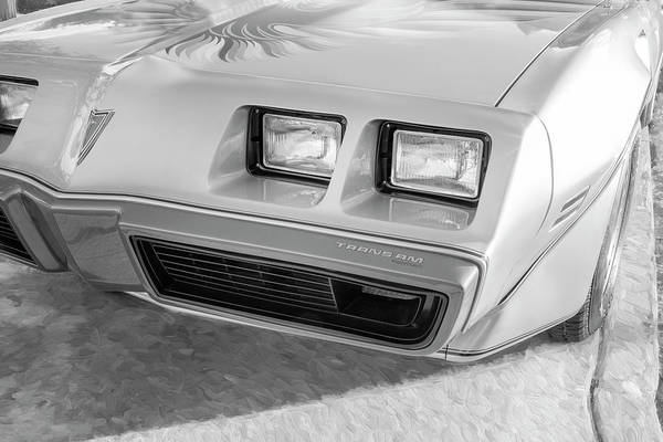 Photograph - 1979 Trans Am 6.6l Motor 403 C.i. T-tops Special Edition, Anniversary Edition 106 by Rich Franco