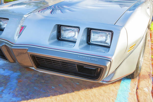 Photograph - 1979 Trans Am 6.6l Motor 403 C.i. T-tops Special Edition, Anniversary Edition 107 by Rich Franco