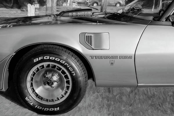 Photograph - 1979 Trans Am 6.6l Motor 403 C.i. T-tops Special Edition, Anniversary Edition 108 by Rich Franco