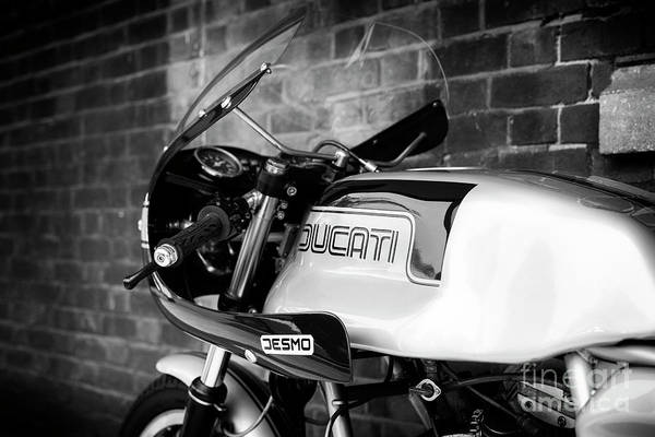 Photograph - 1981 Ducati 900ss by Tim Gainey